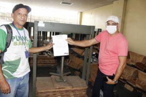 Governo do Amazonas impulsiona produção de farinha em Pauini