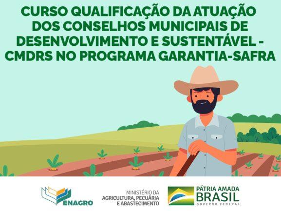 Primeira capacitação do Garantia Safra 2021/2022 do Amazonas tem inscrições abertas